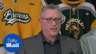 Hockey team president calls Canada bus crash a 'tragedy' - Daily Mail
