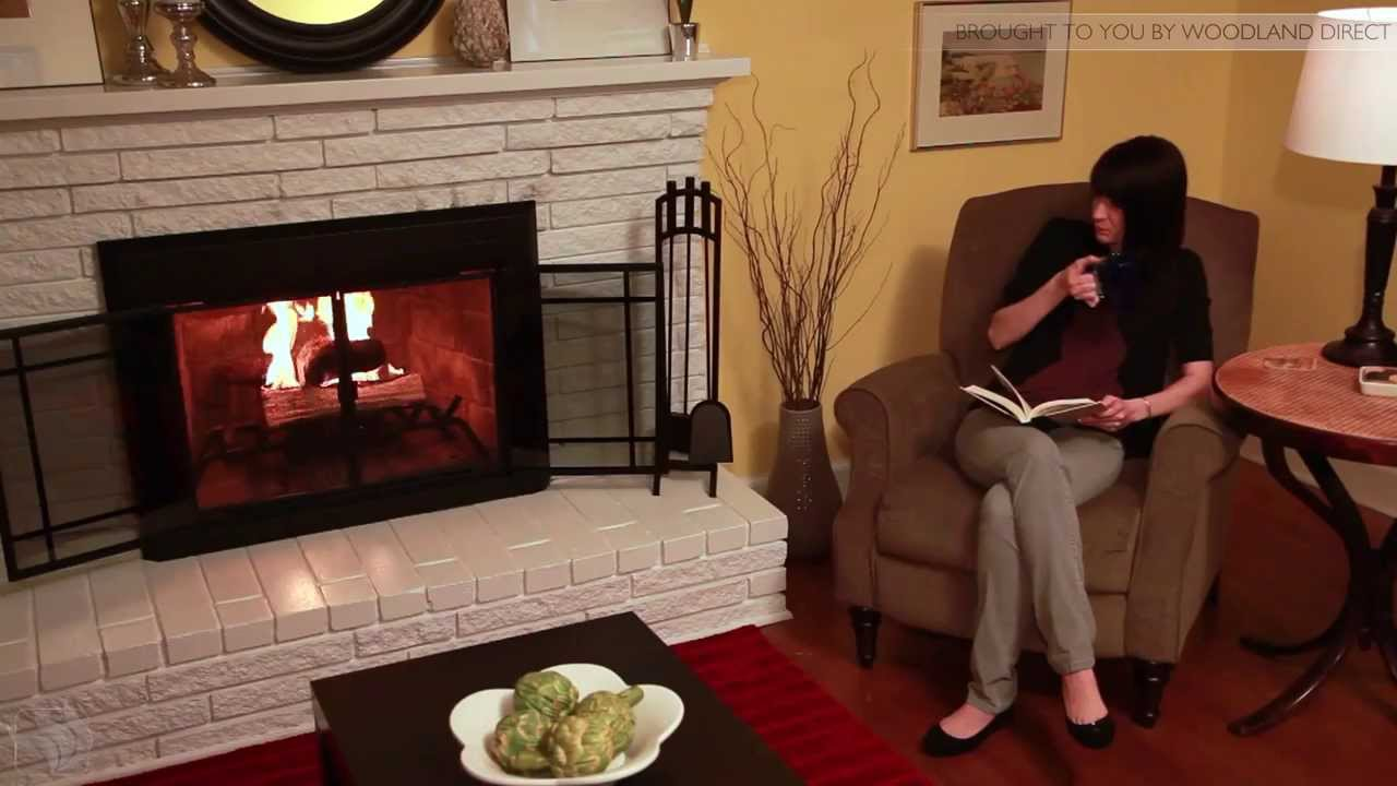 Residential Retreat Fireplace Glass Door Installation Youtube