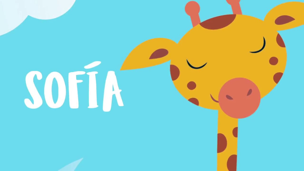 Canción de Sofía interpretada por niños uruguayos - Libro infantil ...