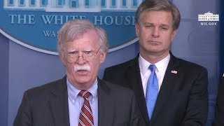 Five Of President Trump's Top National Security Team Explain Why RUSSIA IS A THREAT To US Elections!