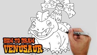 How to Draw Venusaur | Pokemon