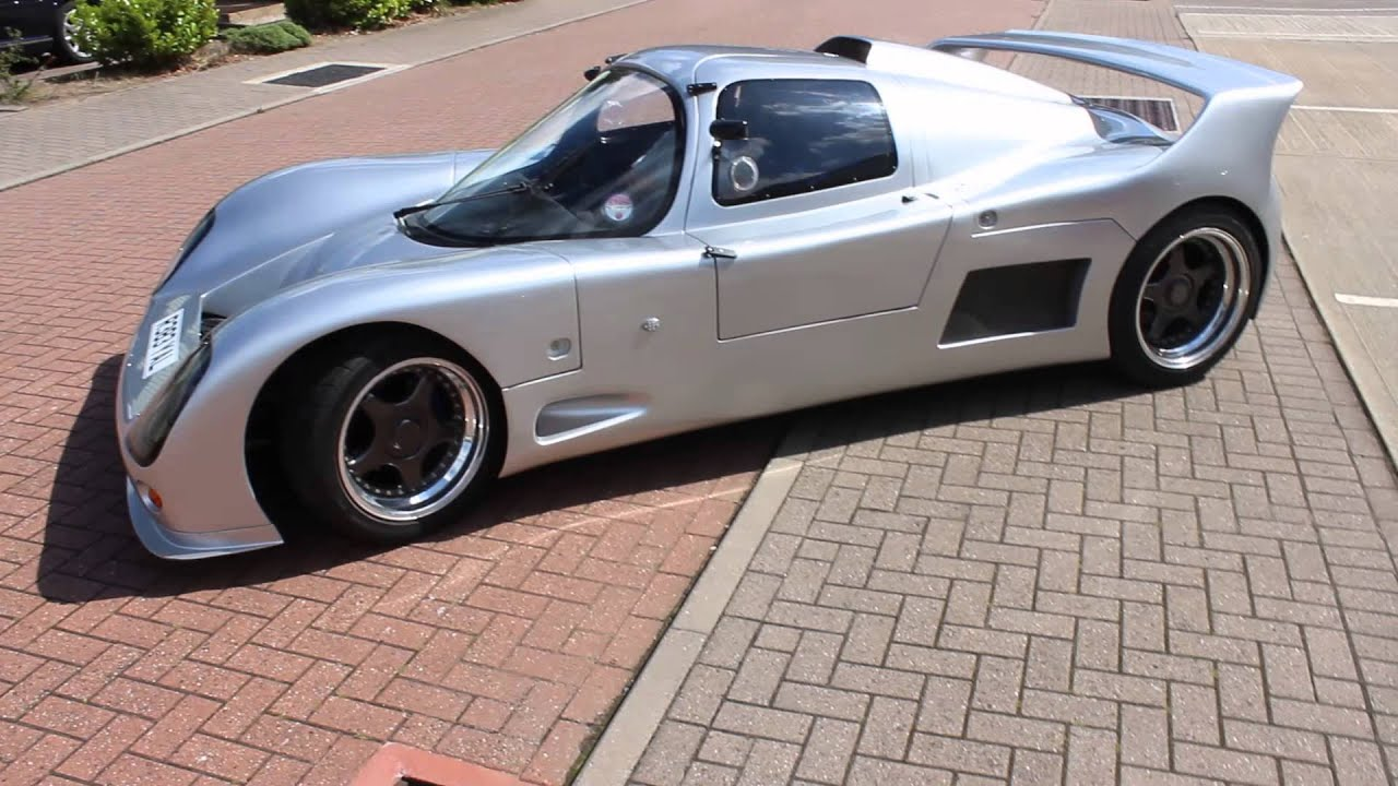 Silver Ultima Kit Car Supercar Arriving At Ultima Day Youtube