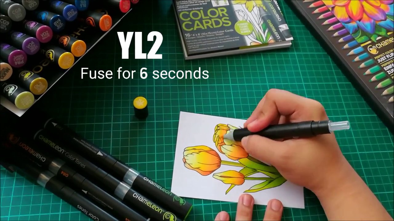 Tulip Color Card by Christian De Jesus - YouTube