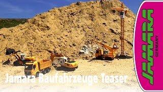 Video Jamara Construction vehicles teaser with excavator, crane, wheel loader and many more download MP3, 3GP, MP4, WEBM, AVI, FLV November 2018