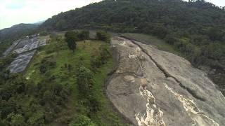 Advierten que ceniza lanzada por el Santiaguito provocará inundaciones