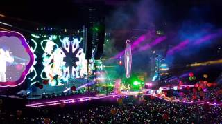 ColdPlay – Live – Lyon 2017 – Viva la Vida & Adventure of a Lifetime - 4K