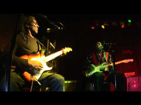 Clarence Spady and Michael Powers at Terra Blues, NY. 2011 Part 1