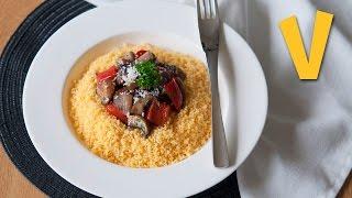 Couscous And Sautéed Vegetables | The Vegan Corner