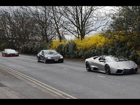 Veyron Super Sport vs Reventon Roadster Forza Horizon