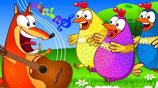 Five Little Animals Song | Collection Nursery Rhymes & Kids Songs