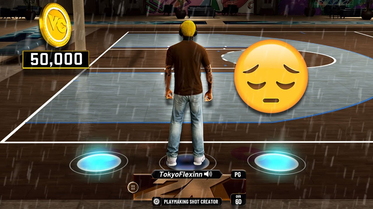 NBA 2K21 but I brought a ROOKIE to comp stage..