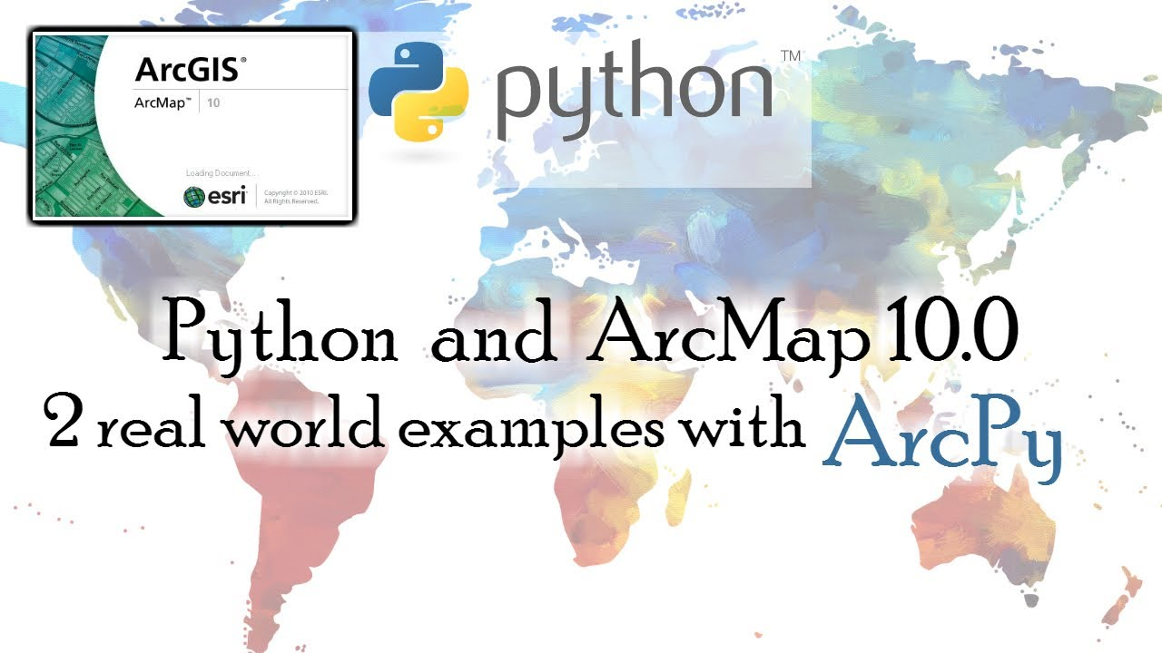 GIS Python: Count shape files and Select by Location (2 Real world ArcPy  examples)
