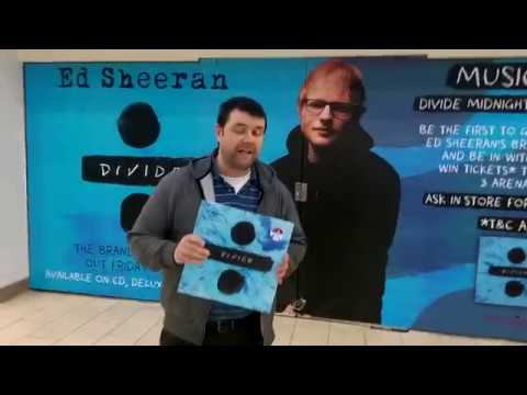 Ed Sheeran - '÷'( Divide) Midnight Album Launch Party And 3Arena Ticket Competition