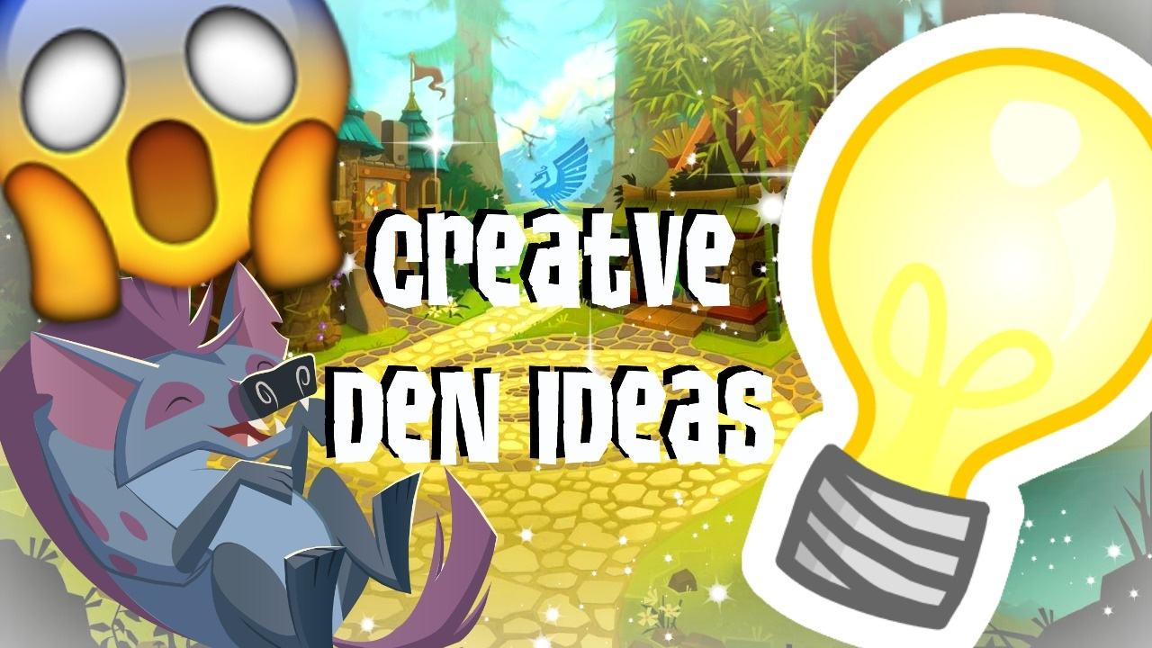 Animal Jam: Creative Den Decorating Ideas! - YouTube