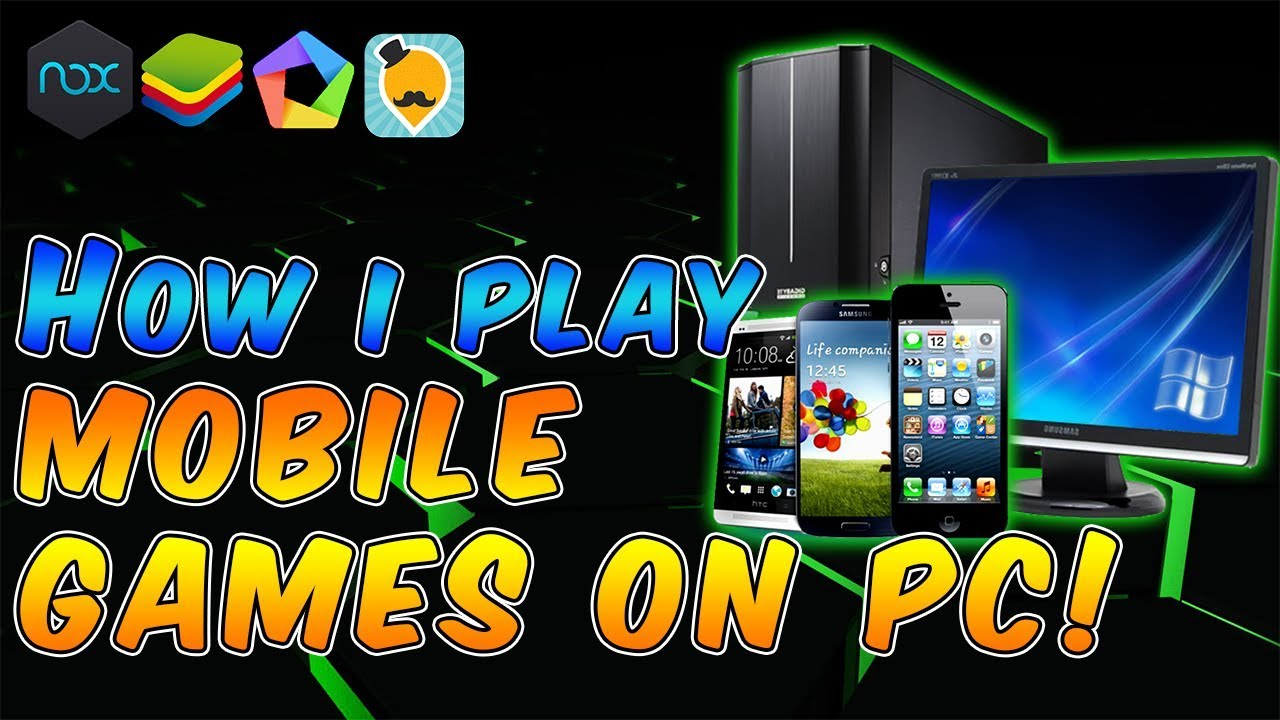 HOW TO PLAY ENG/JP MOBILE GAMES ON PC – EASY SETUP!! (NOX,BLUESTACKS) [March 2019]