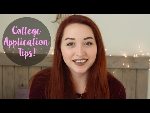 College Application Tips + University of Washington Advice!