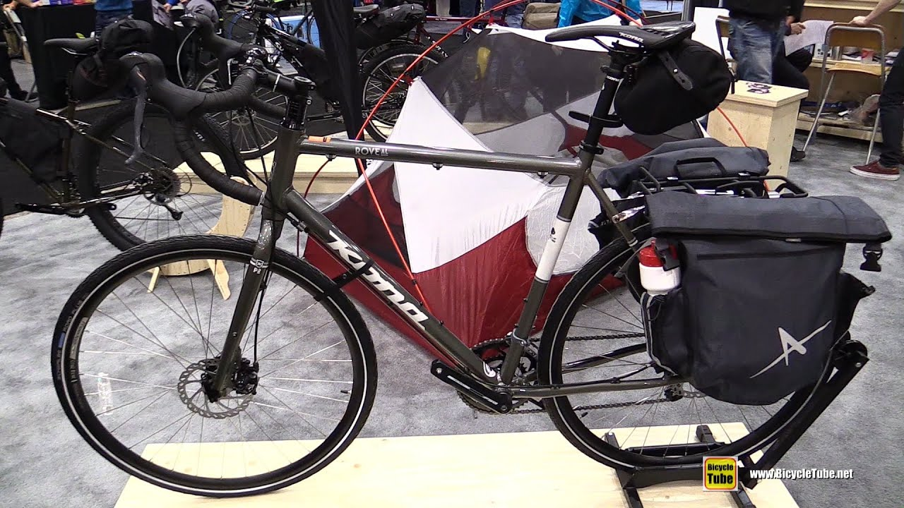 2015 Kona Rove AL Tourist Bicycle - Walkaround - 2015 Salon du Velo ...