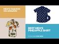 Best Men's Pineapple Shirt Men's Fashion On Amazon