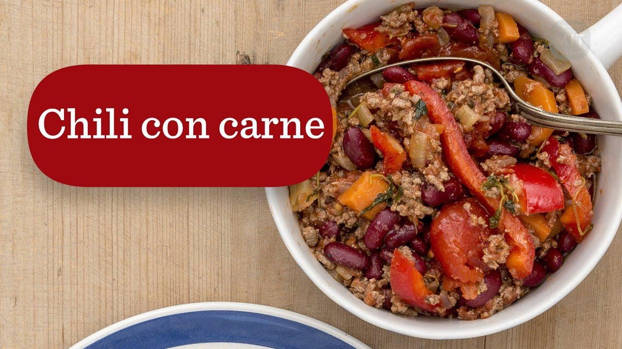 28 Chili Con Carne - Mit kokkeri - YouTube
