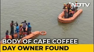 Cafe Coffee Day Founder's Body Found 2 Days After He Went Missing