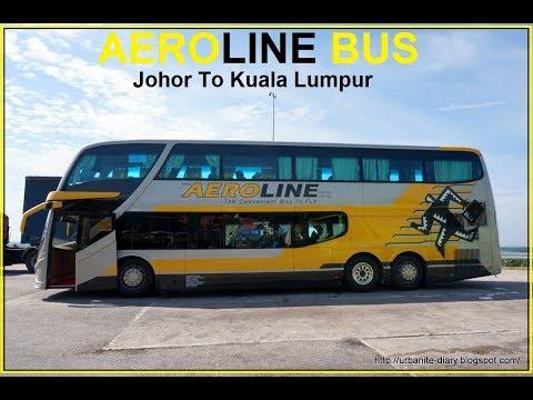 AEROLINE BUS - Johor To Kuala Lumpur Malaysia