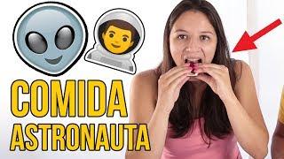 Probando Comida de Astronautas! HELADO DESHIDRATADO! OMG!