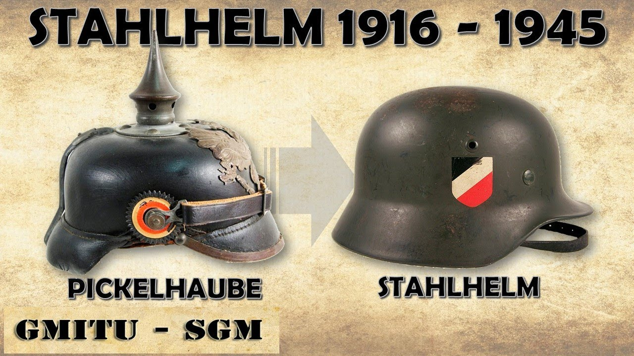 Strahlhelm Stahlhelm 1916 1945 The German Helmet Eng Sub