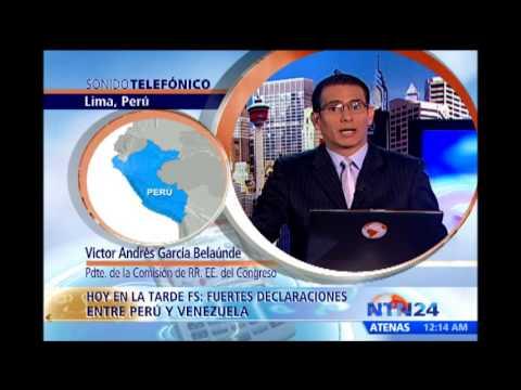 Congresista peruano habla sobre la impresión que deja fuertes declaraciones de Maduro