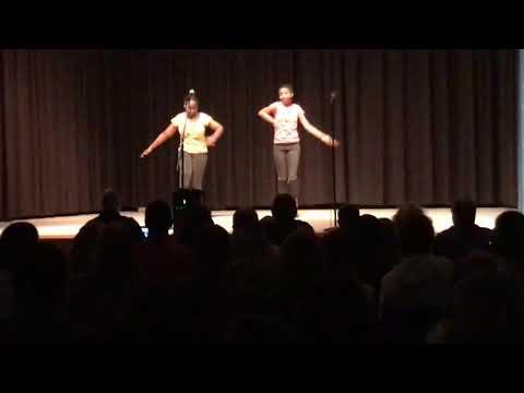 """My babies talent show / Calvert Middle School """"lip gloss """" poppin"""