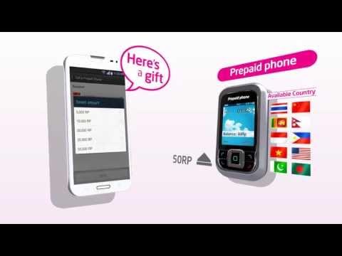 Global Call App - Send Gift (Share credits international call)