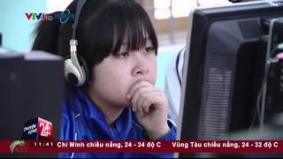 Chuyển động 24h - VTV24   Việc tử tế - Ngàn máy tính triệu ước mơ