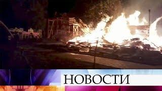ВОдесской области Украины объявлен траур после гибели при пожаре троих детей