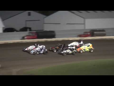 Iowa Sprint Car League Dash Pepsi Lee County Speedway 9/14/19