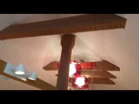Тканевые натяжные потолки на мансарду