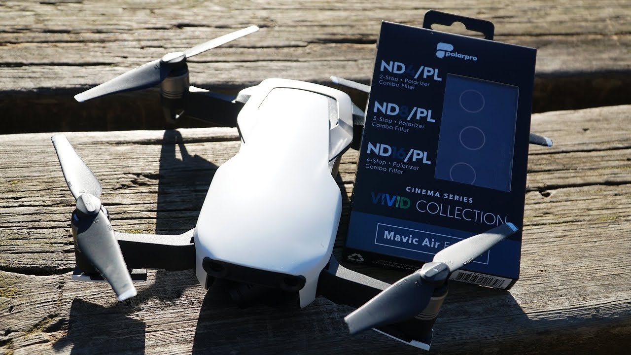 Dji Mavic Air Polar Pro Filters You Need Them Youtube