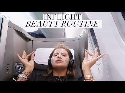 in-flight-beauty-routine-&-packing-my-plane-bag-|-jamie-genevieve