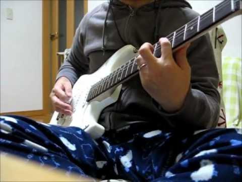 Hi-STANDARDのSHY BOYを安ギターで弾いてみました