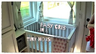 Baby Crib in a Tiny House