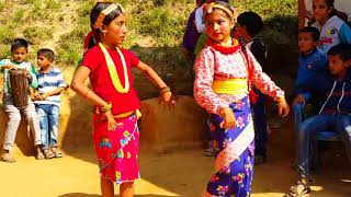 Cute Dance by Little Girls | Pheri Kaha Aauxa Ghumera
