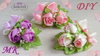 Rosas master class kanzashi