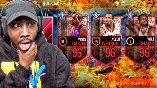 guaranteed 96 all star legend pack opening nba live mobile 16 gameplay ep 79