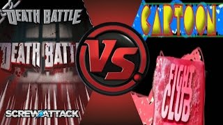 DEATH BATTLE vs CARTOON FIGHT CLUB! Cartoon Fight Club Episode 48