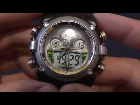 Инструкция к наручным электронным часам Ohsen
