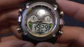 Інструкція до наручним електронним годинником Ohsen