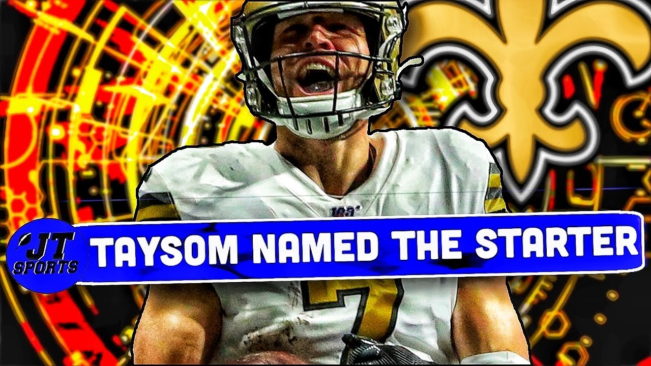 Taysom Hill named Saints' starting quarterback and NFL Twitter can ...