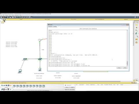 Packet Tracer Lab 5 - Basic Security