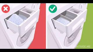 طريقةعمل مسحوق غسيل الملابس الاتومتيك هتوفير كتيييرهيخلى غسيلك منور