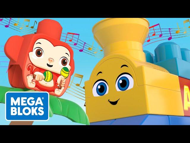 Mega Bloks™ - Müzikli Tren Ormanda! | çocuk çizgi filmleri | Fisher-Price | öğrenme videoları