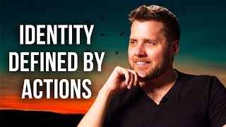 WHY YOUR IDENTITY IS DEFINED BY YOUR ACTIONS - Mark Manson | London Real