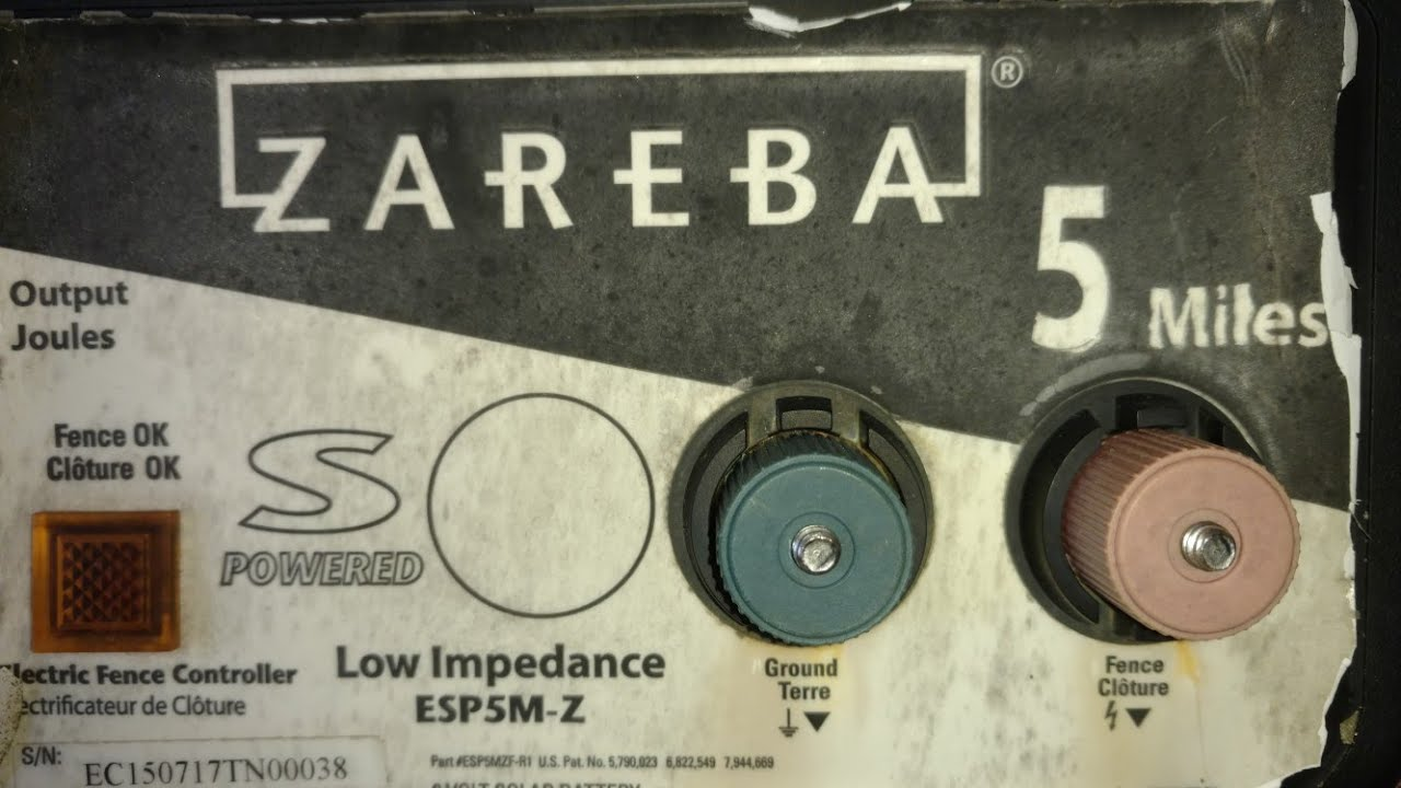 Zareba 5 Mile Solar Fence Charger Repair Well Actually